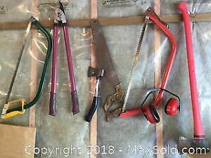Collection of Garden Tools A