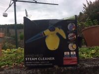 Hand held steamcleaner