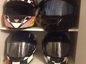 4 Choko Design Helmets