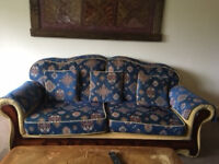 Good Condition! New a new Home! Three & Two Seater Sturdy Sofa, Harborne