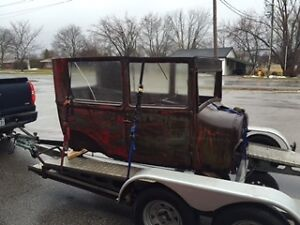 1927 Ford 2 door Project