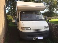 peugeot boxer campervan. Sold pending collection
