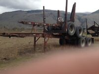 1995 Tandem Jeep and Pole trailer