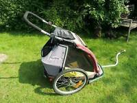 Bike trailer Croozer single.
