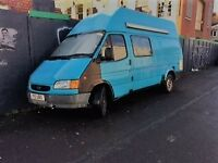 Fully Converted Campervan, Ford Transit 190 LWB.