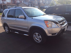 2004 Honda CR-V EX-L SUV, Crossover, Heated Seats,Sunroof, Hitch