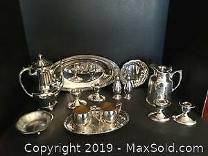 Silver Plate Lot 2 (A)