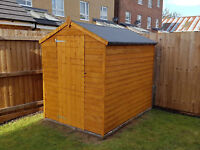 Sheds Supplied And Erected