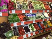 Experienced Greengrocer required for a busy well established shop in Belsize Park London NW3