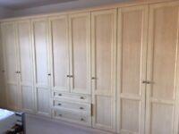 Built in wardrobes - great condition (taken apart) £250