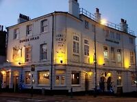 Bar and waiting staff wanted for iconic Putney riverside pub - friendly team - good tips!