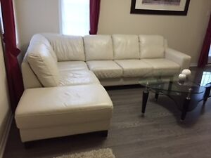 Moving Sale: Leather Sectional