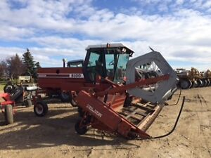 1994 Hesston 8100 Swather