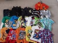 BOYS CLOTHES 3-4 4-5 5-6 6-7 YEAR OLD Shirts Jeans Tops