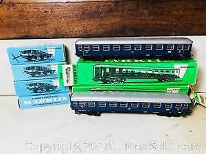 VINTAGE MARKIN GERMANY HO SCALE ROLLING STOCK IN BOXES