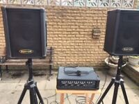Small Band PA System plus accessories