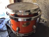 ludwig tom eight inch has a few signs of wear on the trims hence price