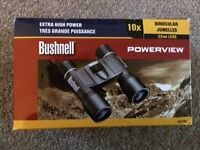 Brand new Bushnell power view 10x 32mm lens