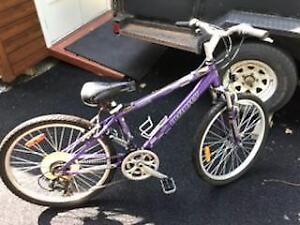 Bicyclette infinity 7 speed mauve