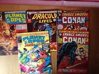 Large collection of british marvel comics from 1972 to 1985