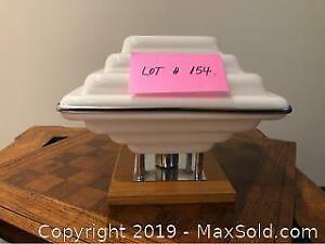 Vintage Art Deco Design Table Lamp