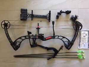 PSE Brute-X-MP Compound Bow with Sight