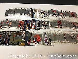 lot of over 300 Upper Deck Hockey cards Mint