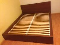 Ikea Maln double bed and mattress for sale