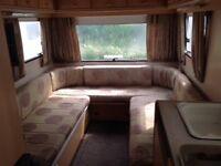4/5 berth Adria Optima touring caravan