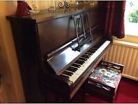 Mienel Upright Piano and Stool