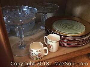 Platters, Chargers, Bunnykins and More A