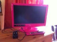 "Pink Logik 19"" LED TV & DVD combi"
