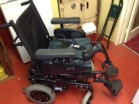 Quickie Rumba Electric Wheelchair