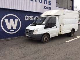 2007 Ford Transit Twin Wheel T350 Engineers Box / Chassis Cab