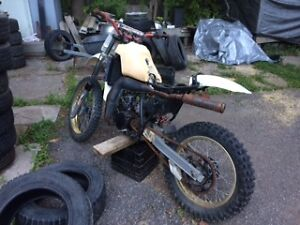 1982 Yamaha Enduro Parts Bike