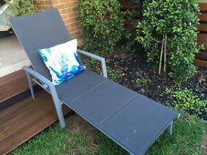 Grey Sun Lounge x 2 Glenmore Park Penrith Area Preview
