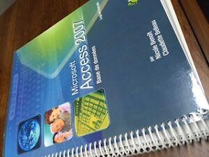 Access 2007, livre pour apprendre ce logiciel de base de donnée