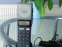 Sony Mars bar mobile phone, Suit collector, Still boxed with charger