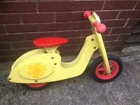 Balance bike, tidlo retro scooter.