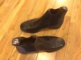 Size 8 (42) Harry Hall Black Jodphur Boots
