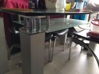From £20 Dinning Table with 6 chair, 6 Sitter DFS sofa , IKea TV Unit , 2 Double Beds ...