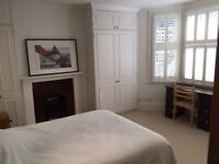 Light, one bedroom flat in Parsons Green, Fulham, with own entrance.