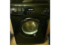 55 Bush F721QB 7kg 1200 Spin Black A+ Rated Washing Machine 1 YEAR GUARANTEE FREE DEL N FIT