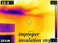 draft sealing and upgradeing insulation