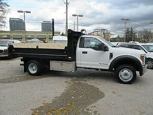 2017 Ford F-550 2WD DIESEL WITH 12 FT STEEL DUMP BOX