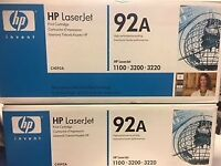 HP LaserJet Printer Cartridge C4092A Toner (compatible model 1100, 3200,3220)