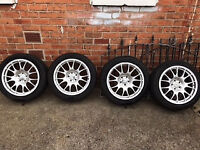 18 inch motorsport set of 4 wheels off Mercedes Vito fit Seat, VW and Audi £400