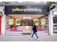 Digital Print Shop Vacancies in East Sheen, Southfields and Shepherd's Bush - 20k-35k