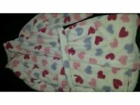 Girls dressing gowns age 7-8years