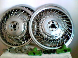 4 Chrome Spoke R-15 Hubcaps for Sale